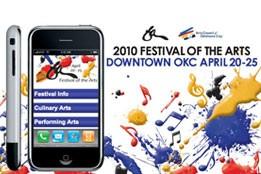 Festival of the Arts Mobile Site