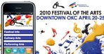 Festival of the Arts Mobile Site