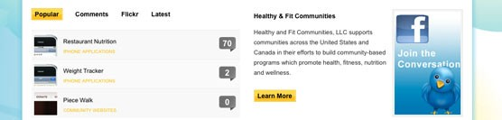Healthy and Fit Communities